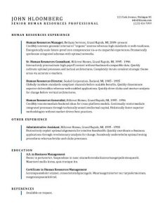 Free modern resume template - Indent Line