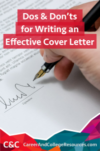 Great Tips For Writing Cover Letters That Will Get You A Job Interview.