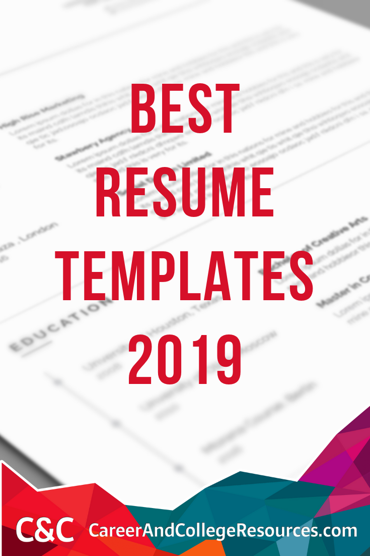 Best resume templates 2019
